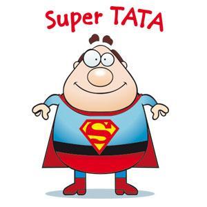 Grafika Super Tata